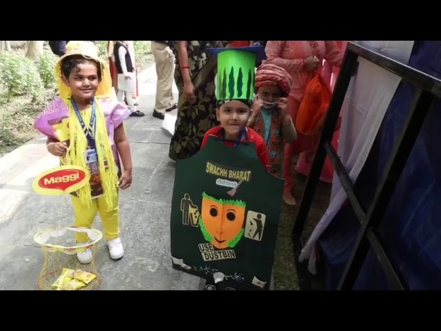 Our Tinytots participated in fancy dress competition held in Mount Litera Zee School JokaSchool.