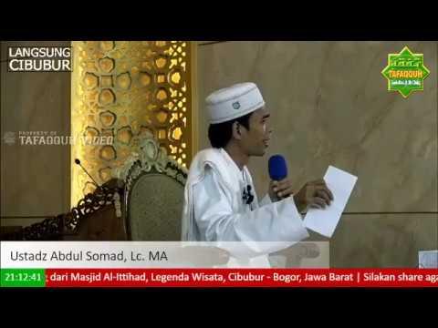 Terbaru Ustadz Abdul Somad, Tanya Jawab Masjid Al Ittihad Cibubur 18 Oktober 2017