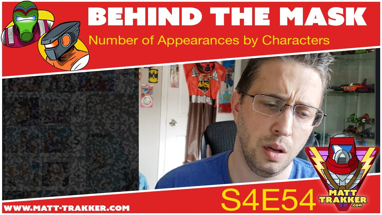Number of Appearances: Characters - S4E54