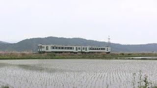 キハ110系2両 曽波神駅~鹿又駅間にて2