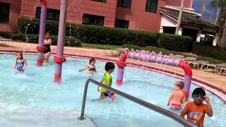 caribe royale resort at orlando florida kid s playground and pool