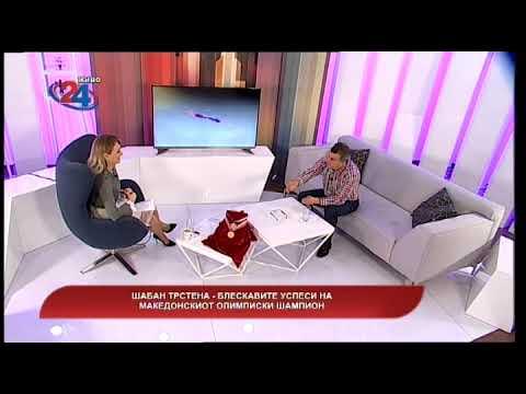 Македонија денес -  Шабан Трстена - блескавите успеси на македонскиот олимписки шампион