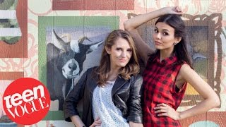 How Well Do Victoria Justice and Her BFF Really Know Each Other?