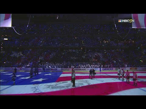 WSH@TBL, Gm2: Sonya Bryson performs national anthem