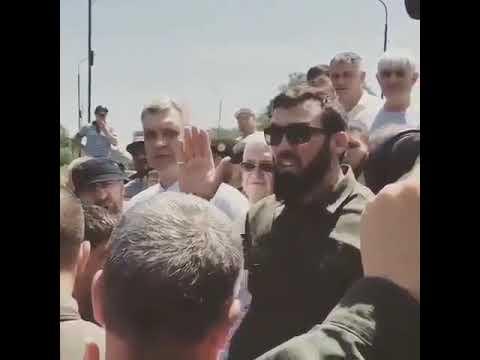 Даудов на границе Чечни и Дагестана 11.06.19