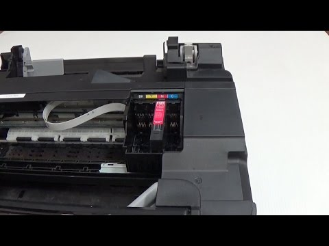 How to remove the print-head from Epson inkjet printer XP300 WF2530 WF2540 XP400 and others