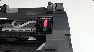 Use This How To Remove The Print Head From Epson Xp 410 To Clean It Epson Inkjet Printer Inkjet Printer Printer