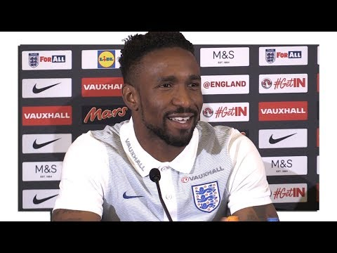 Jermain Defoe Pre-Match Press Conference - Malta v England - World Cup Qualifying - Embargo Extras