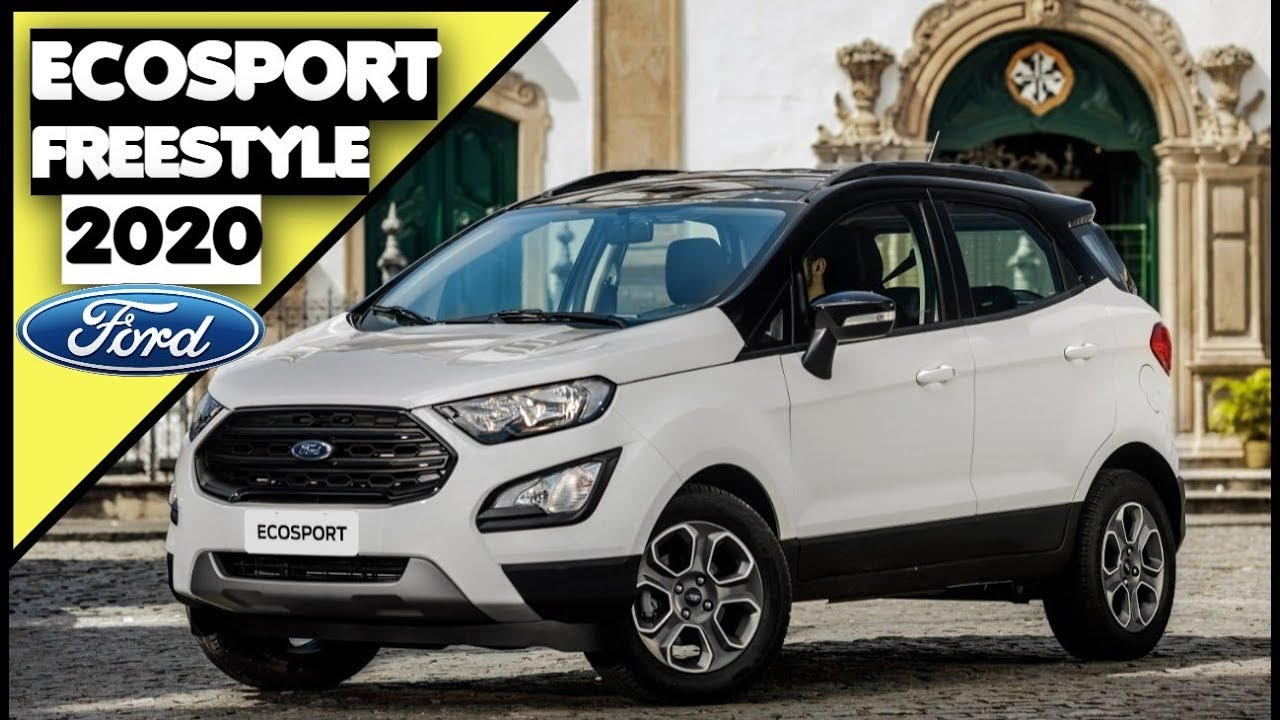 2020 Ford EcoSport: Specs, Equipment, Price >> Novo Ford Ecosport Freestyle 2020 Detalhes Preco Motorizacao E