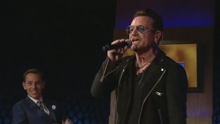 The Miracle of Joey Ramone - Bono and The Edge | The Late Late Show