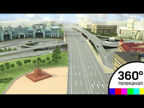 Реконструкция площади...
