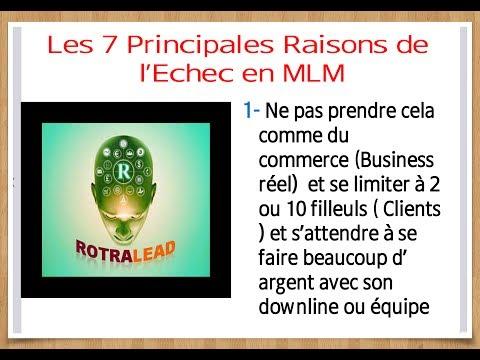 LES 7 PRINCIPALES RAISONS DE L'ÉCHEC EN MLM