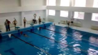 Как дети сдают ГТО г.Туле плаванье. 2016.
