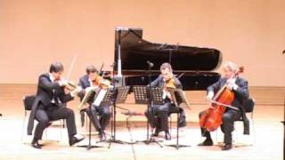Mozart String Quartet KV 387, 2nd mvt. MENUETTO. Allegro
