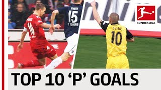 Top 10 Goals Players With