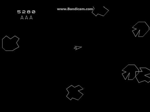 Online Games: Classic Arcade Asteroids