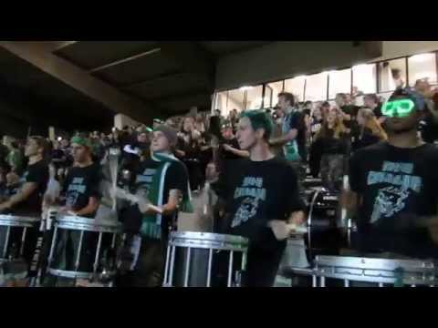 Emerald Ridge High School drumline and pep band - King of the Hill 2014