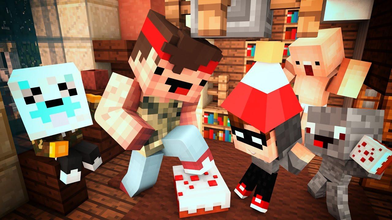 LUCAS HAT GEBURTSTAG WHOS YOUR DADDY MINECRAFT YouTube - Minecraft spiele geburtstag