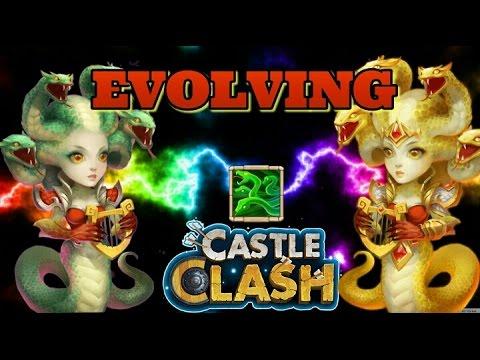 Castle Clash Evolving Medusa! Frustrating Lost Realm! LOL