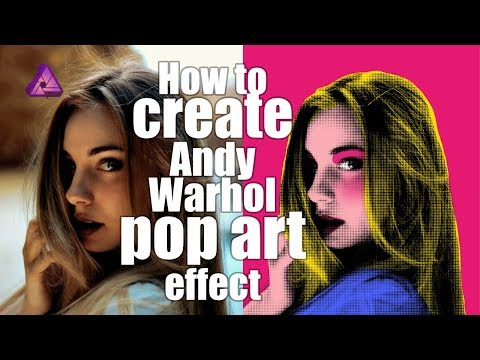 Affinity Photo Tutorial #04   Create Andy Warhol style Pop Art effect