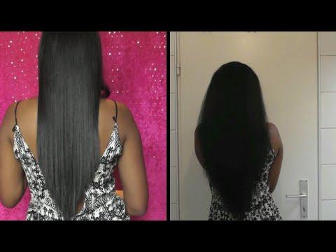 Como cortar el cabello en v facil