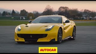 Extreme Ferrari F12tdf driven - a beauty and a beast?