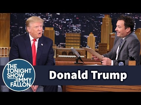 Mock Job Interview for President with Donald Trump
