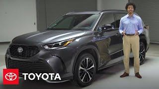 homepage tile video photo for 2021 Highlander XSE Walk-Around | Toyota