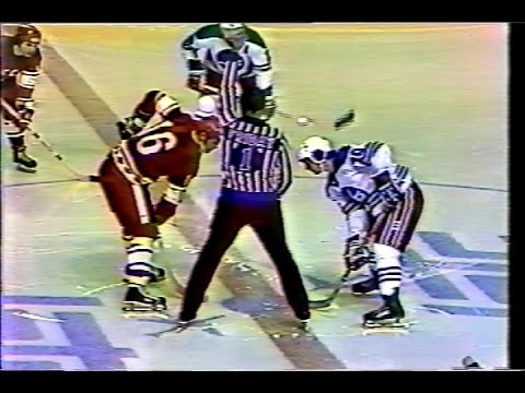 СССР - Winnipeg Jets 1977-01-06 (3 период)