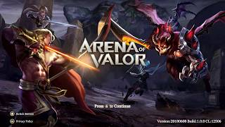 arena of valor switch gameplay
