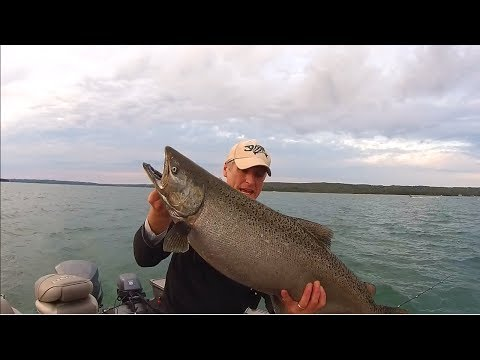 Salmon Fishing With Downriggers