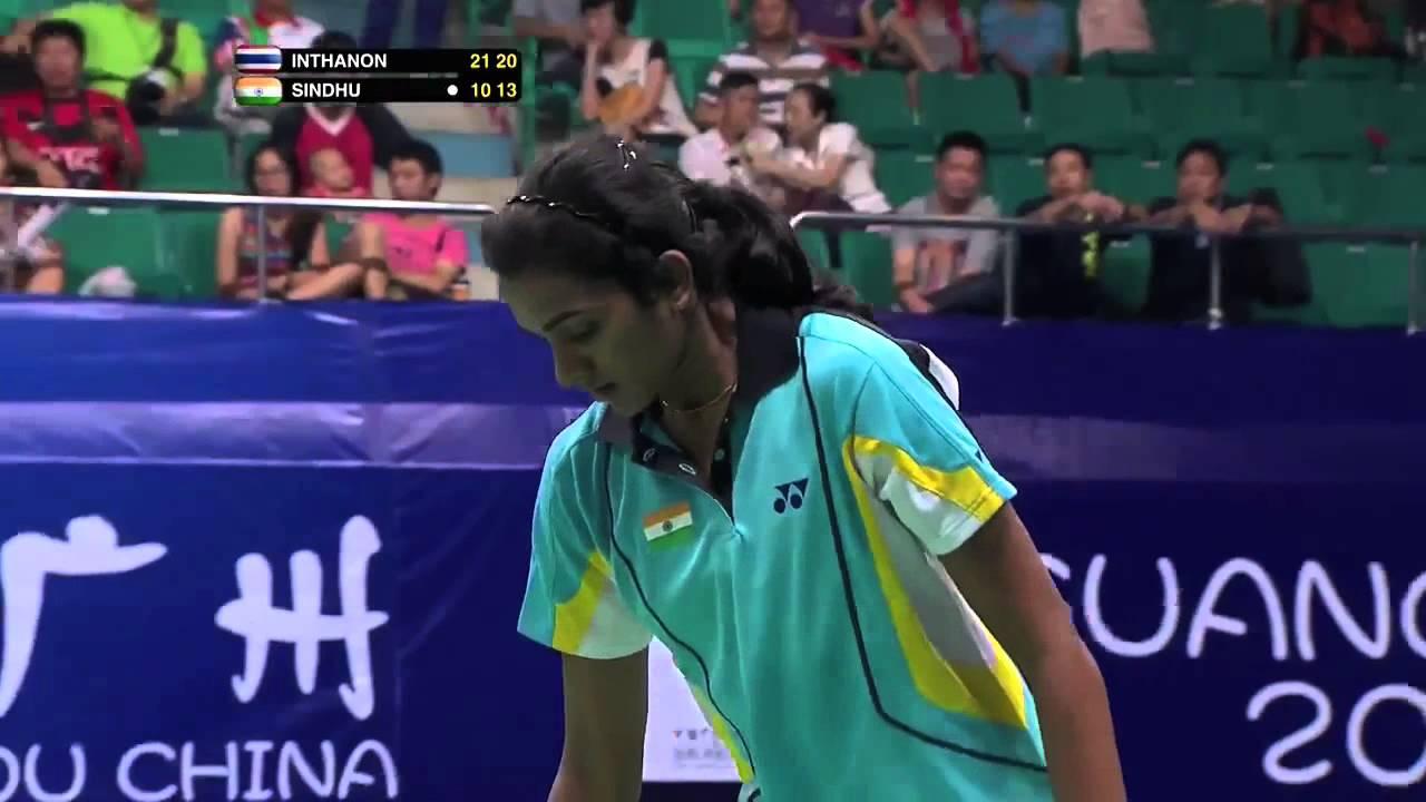SF WS Highlight Ratchanok Intanon vs Pusarla Venkata Sindhu