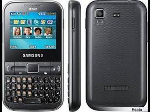 Formatar Resetar Samsung Ch@t 322 C3222 Configurações Originais