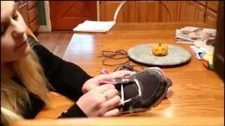 How to lace your shoes if you have wide feet!!
