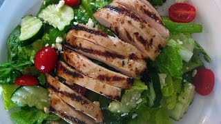 Grilled Chicken Fattoush Salad