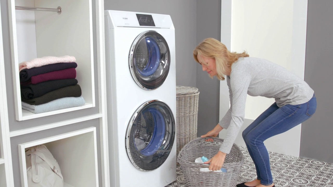 Haier Duo Washing Machine And Dryer 4 8kg