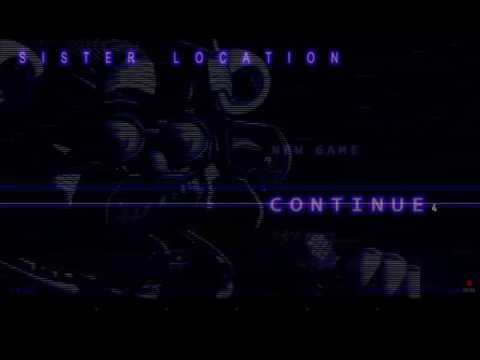 Fnaf sister location game play!