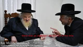 HaRav Moshe Sternbuch Shlit'a on Consequences Violation of Eternal Resting Places