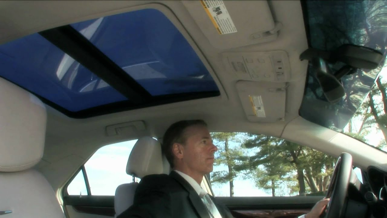 Smart Glass Spd Smart Sunroofs On Cadillac Youtube
