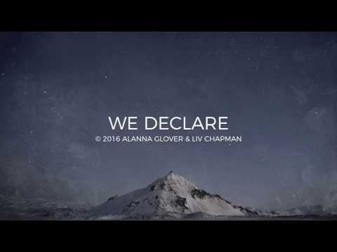 We Declare Lyric Video // Emu Music
