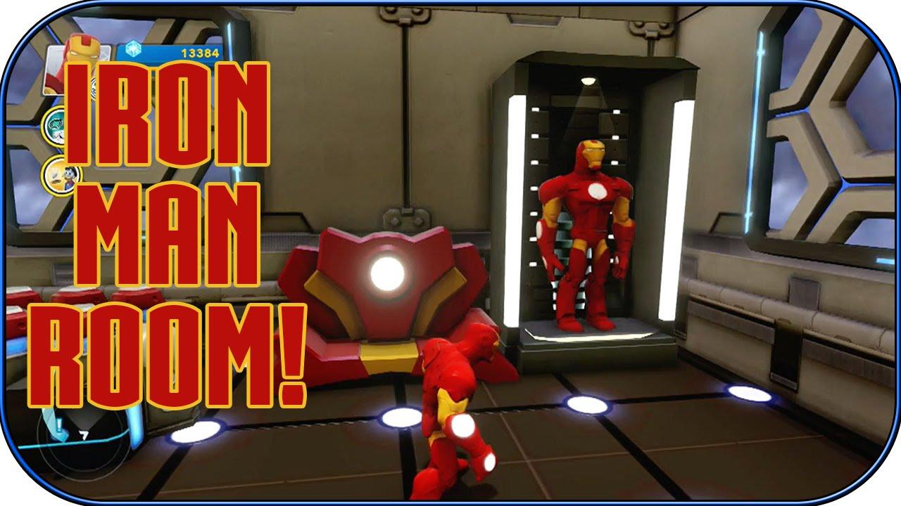Disney Infinity 2.0   Iron Man Room!   Interiors   Ep. 10   YouTube