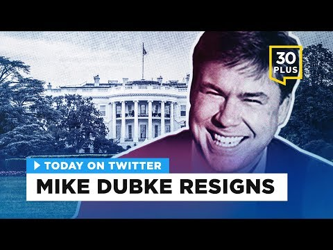 Mike Dubke resigns as White House Communications Director | Today on Twitter - May 30, 2017