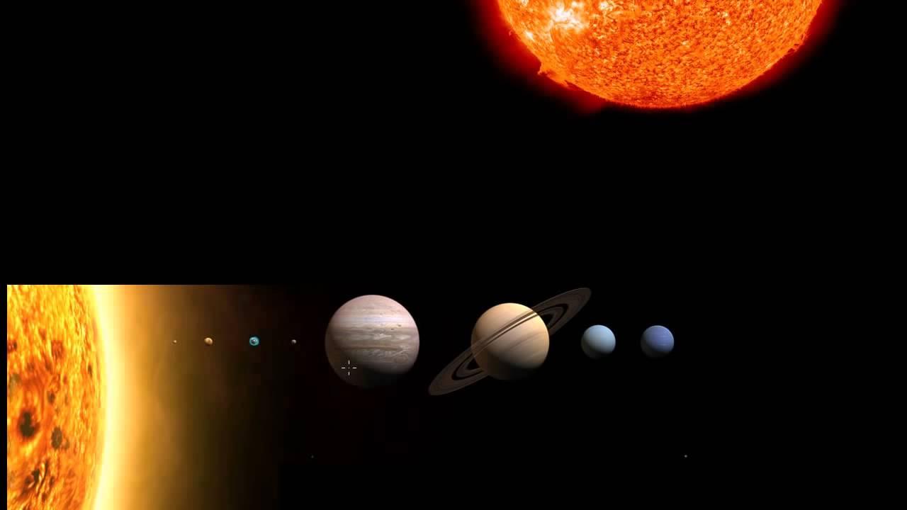 Земля и Солнце - масштабы (видео 3) | Масштабы Вселенной | Космология и Астрономия