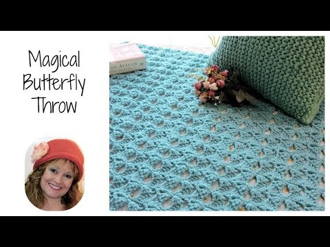 Magical Butterfly Free Crochet Pattern