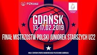 Finał Mistrzostw Polski Juniorek Starszych u22, Gdańsk 16 lutego 2019