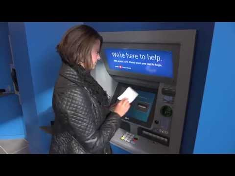 How cardless cash ATMs work