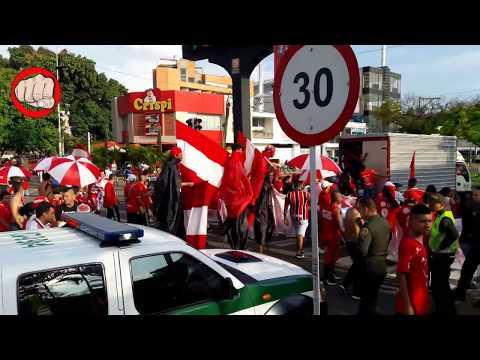 AMERICA 2 VS CASI 1 /Banderazo y Carnaval en el pascual/ la banda del diablo