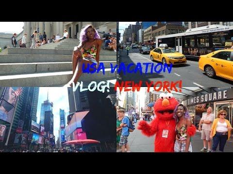 USA HOLIDAY VLOG: NEW YORK!