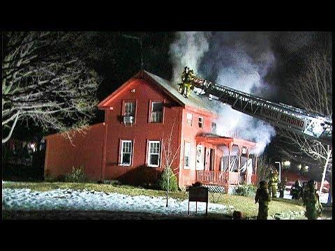 153 Elm St. North Reading 2 alarm fire