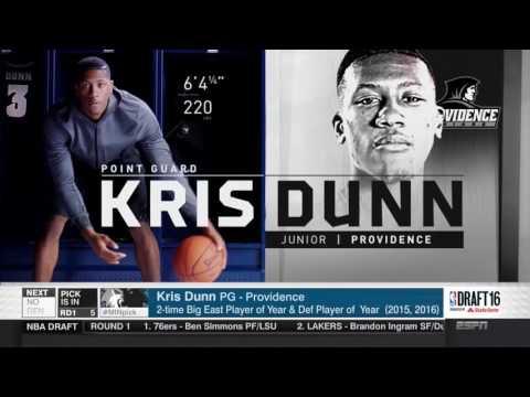 2016 NBA Draft   #5 Pick׃ Kris Dunn   Minnesota Timberwolves